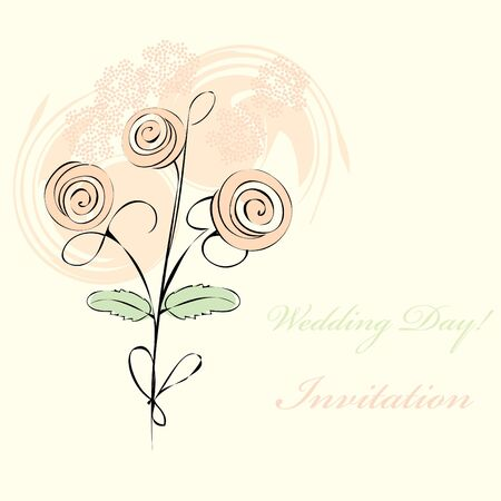fondle: Wedding Day  background Illustration