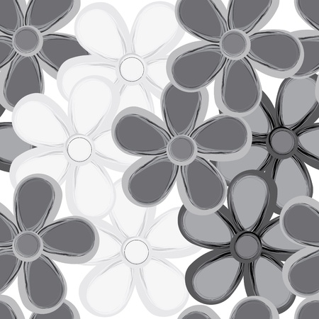 Abstract flower seamless pattern background Stock Vector - 12813021