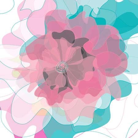 Flower backgrounds.Graphic decor symbol.