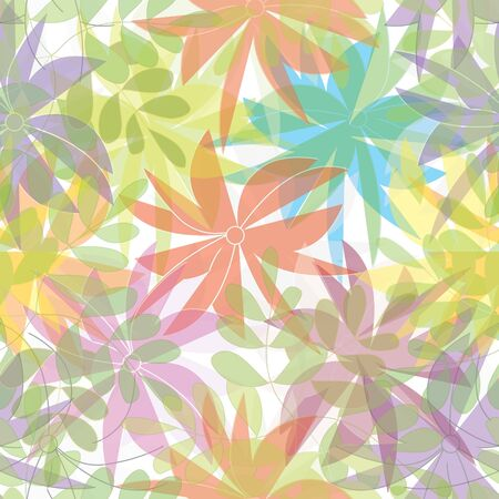 caress: Floral seamless pattern