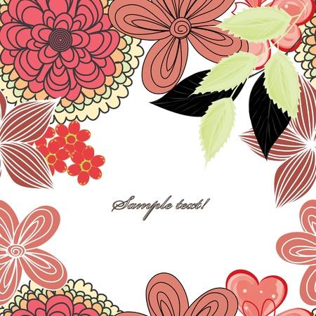 Stylish flower backgrounds Stock Vector - 13728755