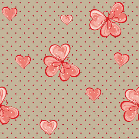 Abstract flower seamless pattern background Stock Vector - 14166929