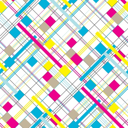 rectangle patterns: Abstract  geometric background. Seamless pattern.