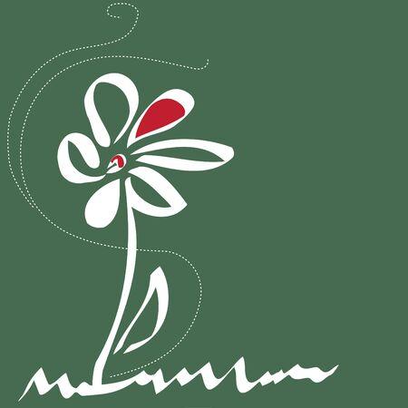 Stylish flower  backgrounds.Logo. Stock Vector - 14445968