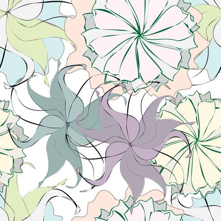 Floral seamless pattern Stock Vector - 14679622