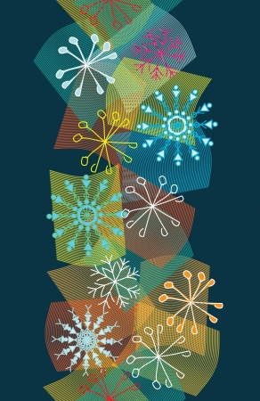 Snowflake background. Stock Vector - 15879109