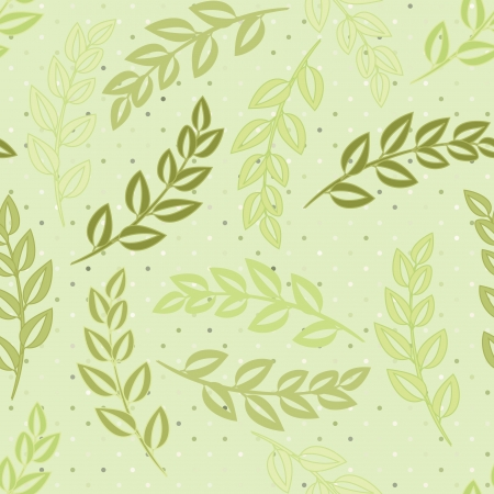 Abstract foliage seamless pattern background Stock Vector - 15879105