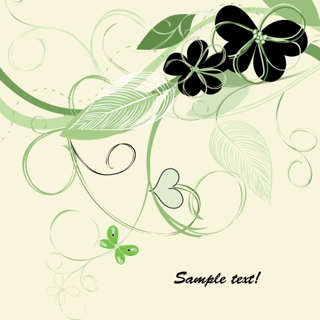 Romantic floral backgrounds Stock Vector - 15879086