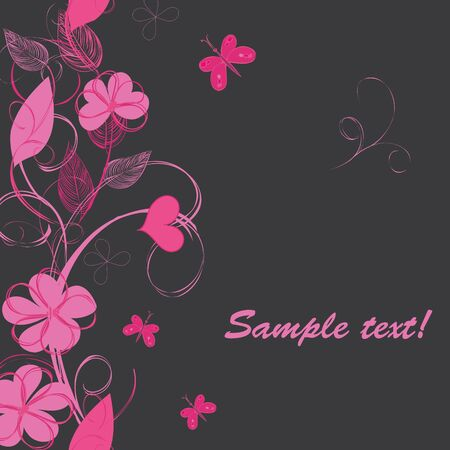 Romantic floral backgrounds Stock Vector - 15879094