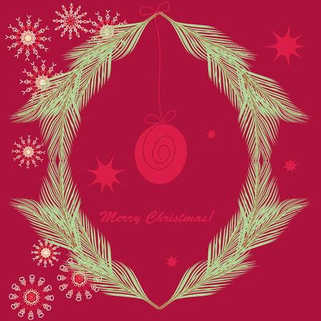 Christmas background Stock Vector - 16637745
