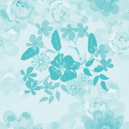 Abstract floral seamless pattern background Stock Vector - 20049506