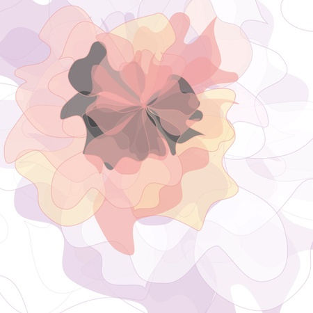 Flower backgrounds.Graphic decor symbol. Vector