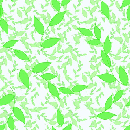 Abstract foliage seamless pattern background Vector