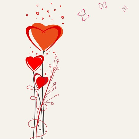 Romantic valentine  backgrounds. Valentines Day. Vector