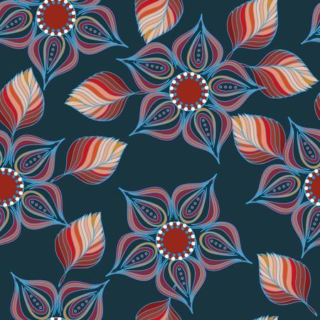 Resumen de antecedentes de flores sin patrón