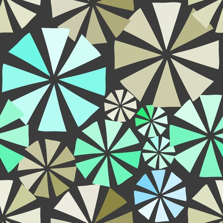 electric material: Abstract flower seamless pattern background
