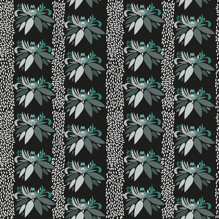 madras: Abstract flower seamless pattern background
