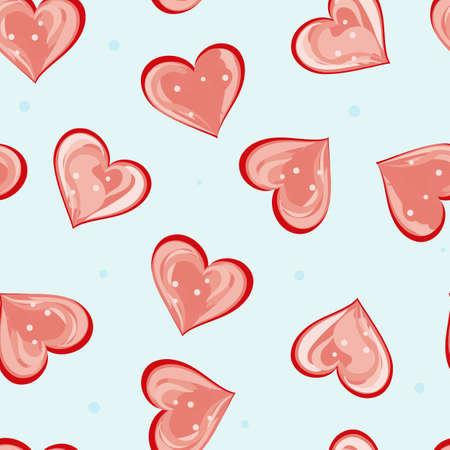 dearness: Romantic valentine seamless backgrounds