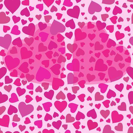 dearness: Romantic valentine seamless pattern
