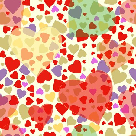 glade: Romantic valentine seamless pattern