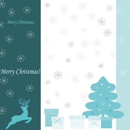 Background with a Merry Christmas end New Jear