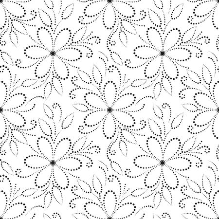 Flower pattern design Reklamní fotografie - 96085243