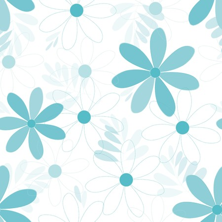 Abstract flower seamless pattern background Reklamní fotografie - 112482194