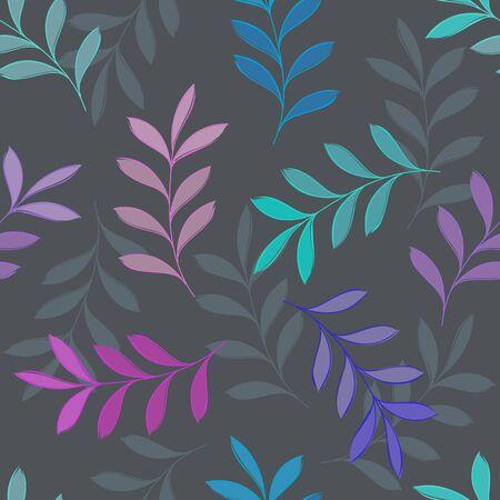 Abstract floral seamless pattern background Zdjęcie Seryjne - 130067778