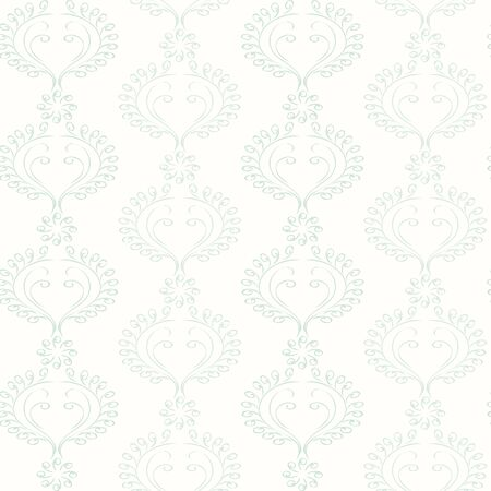 Seamless floral ornament on background. Wallpaper pattern.