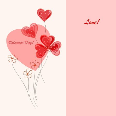 Romantic valentine  backgrounds. Valentines Day.