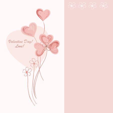 Romantic valentine backgrounds. Valentines Day. Vettoriali