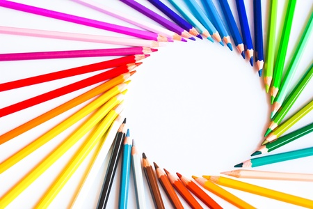 Lápices de colores Foto de archivo - 12085837