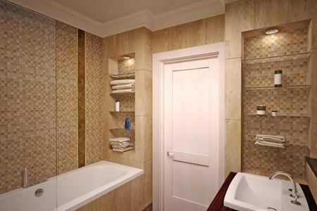 interior of the bathroom Stock Photo - 12291817