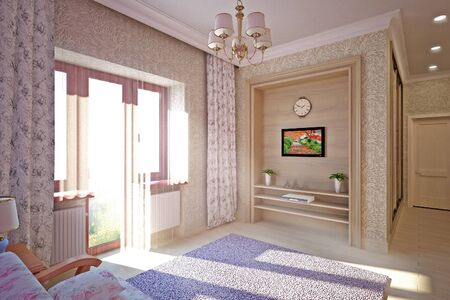 Bedroom interior design photo