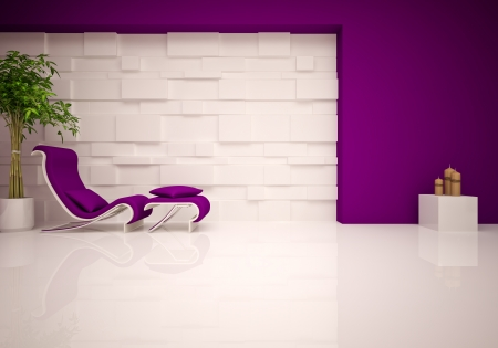 modern lounge   relax room Stock Photo