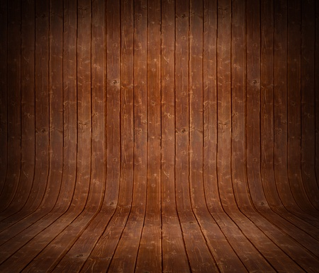 Wood panels used as background with vignetting Stock Photo - 14634272