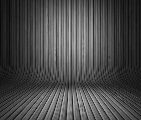 Wood panels used as background  B W Stock Photo - 14719792