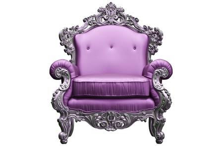 antique chair:  baroque armchair