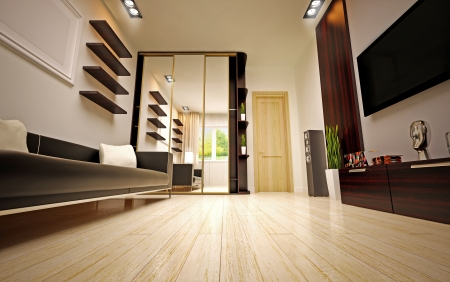 modern living room Stock Photo - 16506655