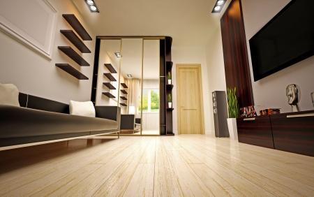 woll: modern living room