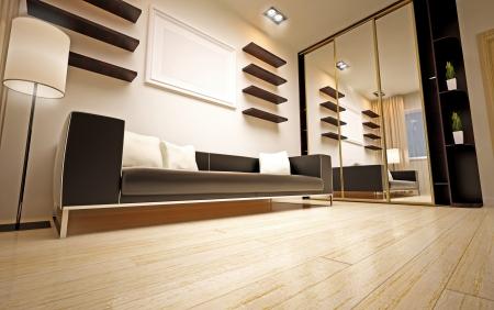 modern living room Stock Photo - 16506647