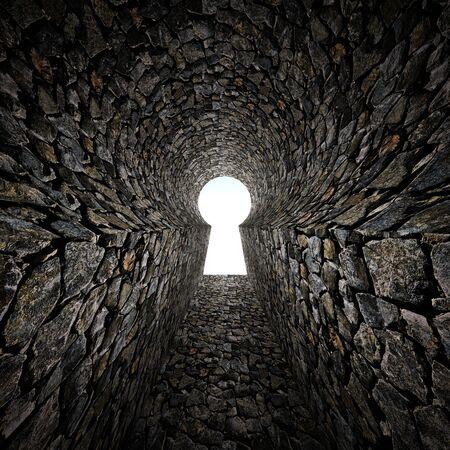 stone keyhole Stock Photo - 17731857
