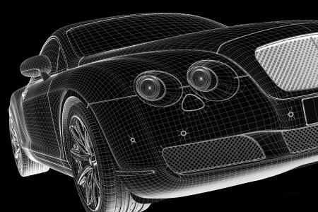 car  3D model photo