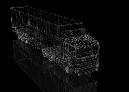 Cargo Delivery Vehicle, body structure photo