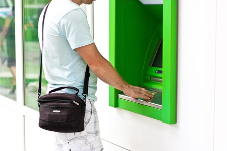 電子バンキング、ATM によるクレジット カード