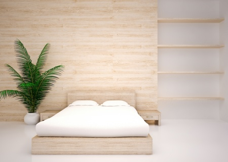 Modern interior of  bedroom Stock Photo - 20825613