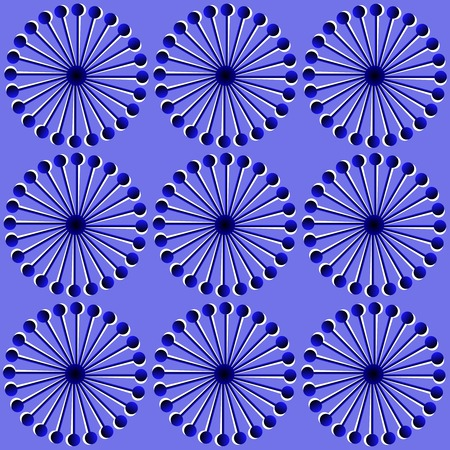 Pattern of round design elements spirograph . Vector