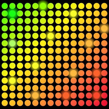 holiday light: color  holiday light  background . Illustration