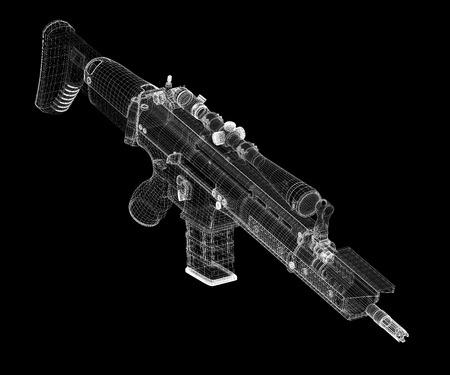 Machine gun Automatic