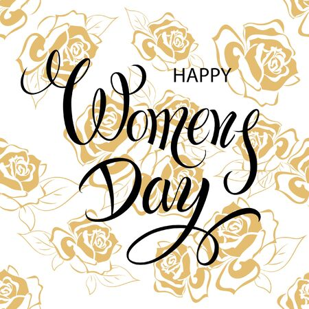 ladies day: Happy Women Day March 8